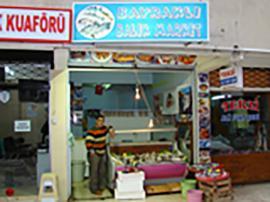 Bayraklı Balık Market Günlük Taze Balık, Ev ve İşyerlerine Paket Servis